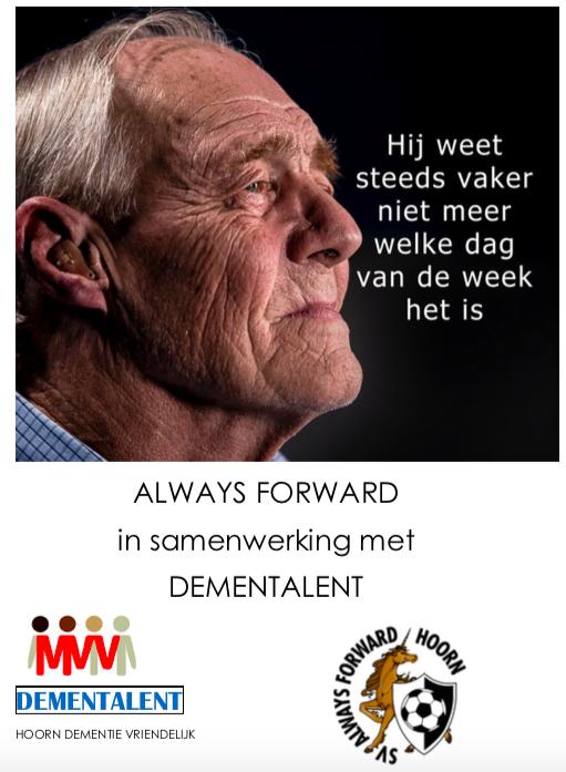 Always Forward is dementievriendelijk