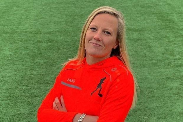 Voetbalclinic Simone Kets