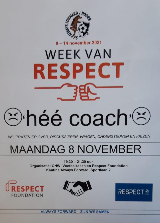 De week van respect